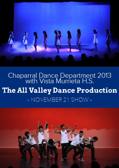 Chaparral HS Winter Show 2013 with Vista Murrieta HS