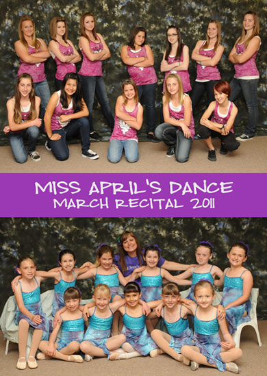Miss April's Dance 2011