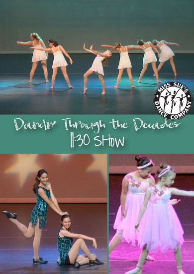 Miss Sue's Dance 2012 – Summer (11:30 Show)
