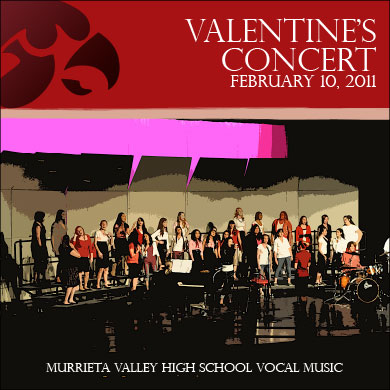 MVHS Choir Valentine's Concert CD 2010