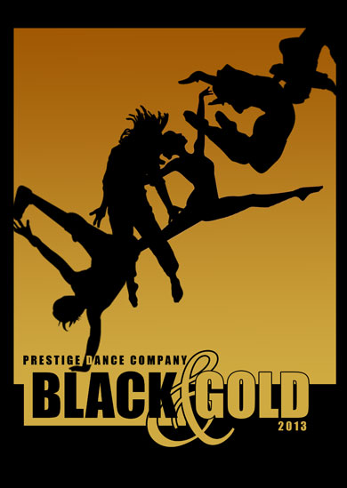 Prestige Dance Company 2013 — Black and Gold