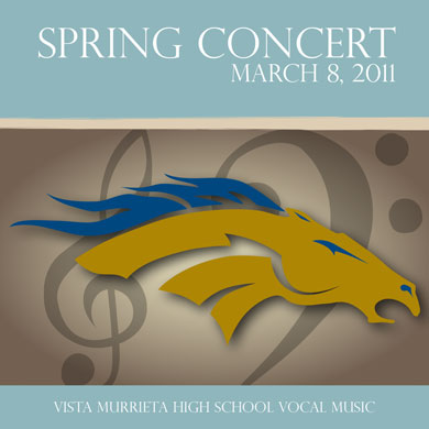 VMHS Choir Spring Concert CD 2011