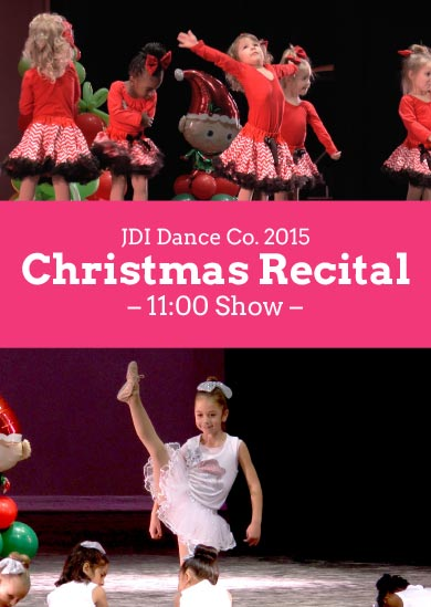 JDI Dance Co. 2015 — Winter (11:00 Show)