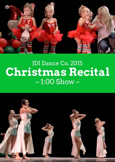 JDI Dance Co. 2015 — Winter (1:00 Show)