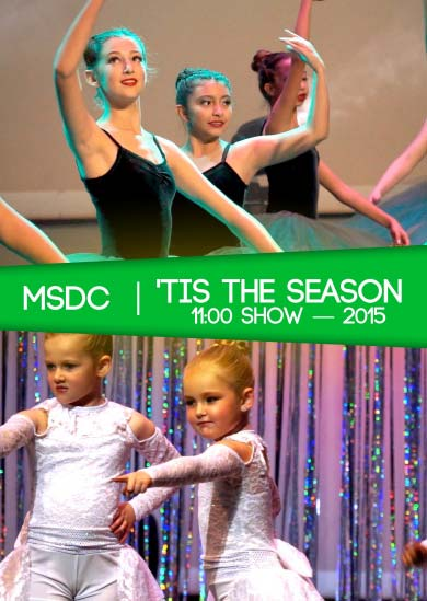 Miss Sue's Dance 2015 — Winter (11:00 Show)