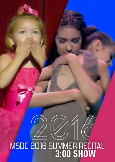 Miss Sue's Dance 2016 — Summer (3:00 Show)