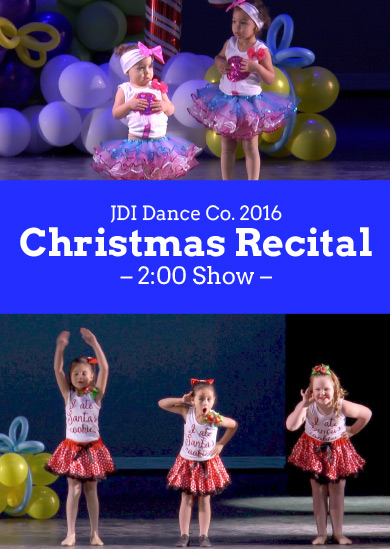 JDI Dance Co. 2016 — Winter (2:00pm Show)