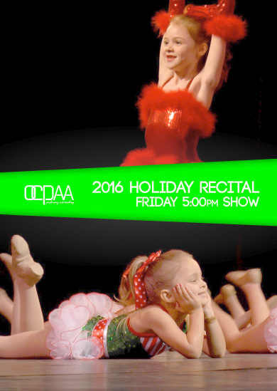 OCPAA 2016 — Winter (Friday 5:00pm Show)
