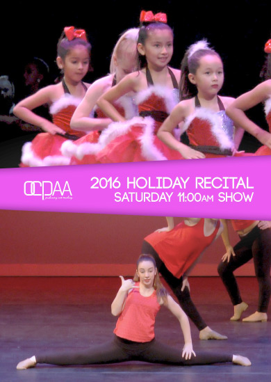 OCPAA 2016 — Winter (Saturday 11:00am Show)