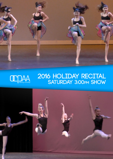 OCPAA 2016 — Winter (Saturday 3:00pm Show)
