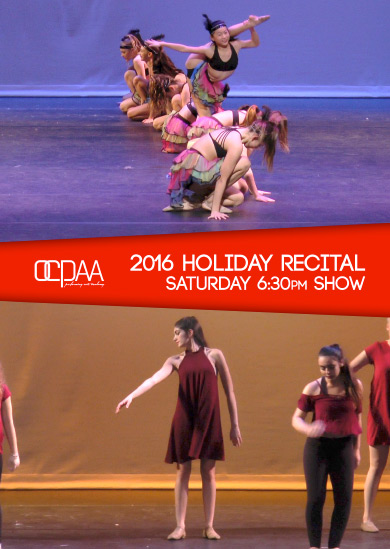OCPAA 2016 — Winter (Saturday 6:30pm Show)