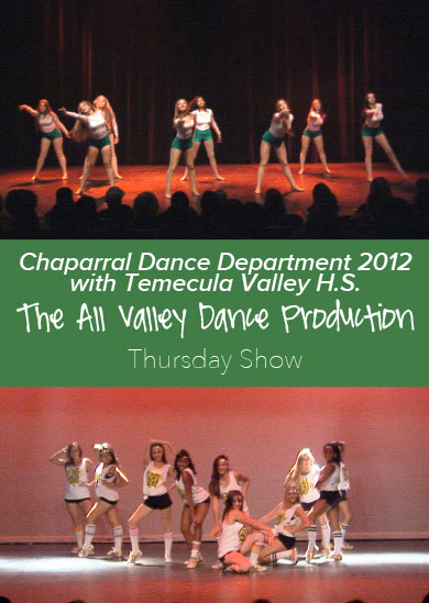 Chaparral HS Winter Show 2012 with Temecula Valley HS