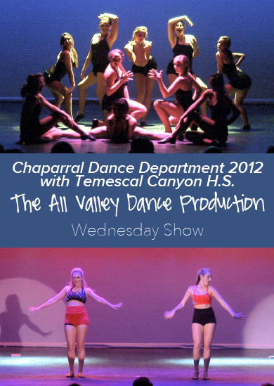 Chaparral HS Winter Show 2012 with Temescal Canyon HS