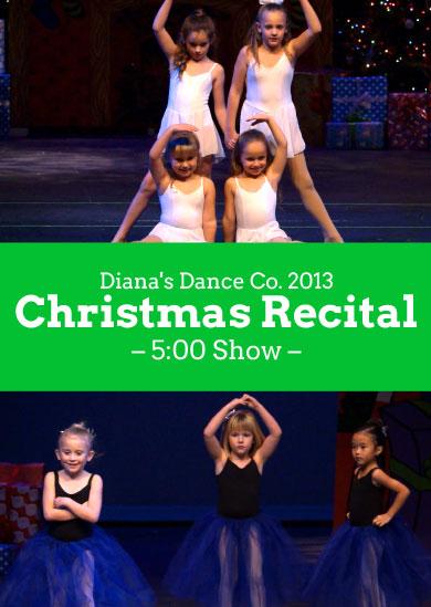 Diana's Dance Company 2013 – Winter (5:00)