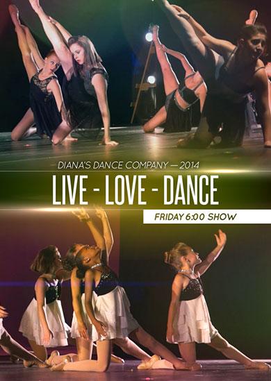 Diana's Dance Company Summer 2014 – Friday Evening