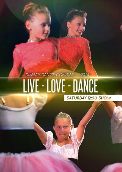 Diana's Dance Company Summer 2014 – Saturday Matinee