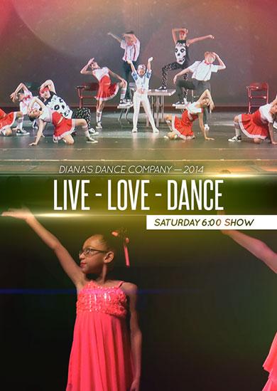 Diana's Dance Company Summer 2014 – Saturday Evening
