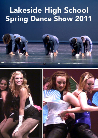 Lakeside H.S. Dance Production 2011 DVD