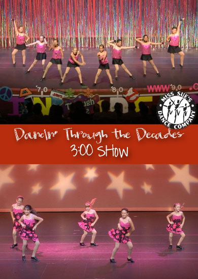 Miss Sue's Dance 2012 – Summer (3:00 Show)