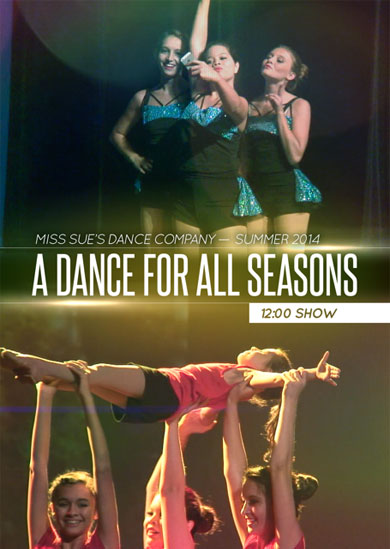 Miss Sue's Dance 2014 — Summer (12:00 Show)