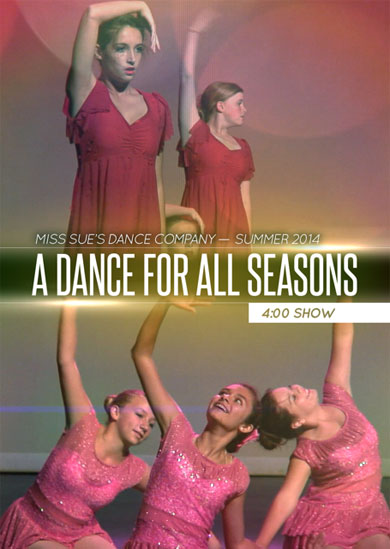 Miss Sue's Dance 2014 — Summer (4:00 Show)