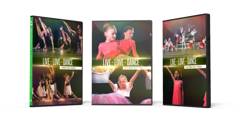 Diana's Dance Co. DVDs (2014 Annual Recital) Are Finished!
