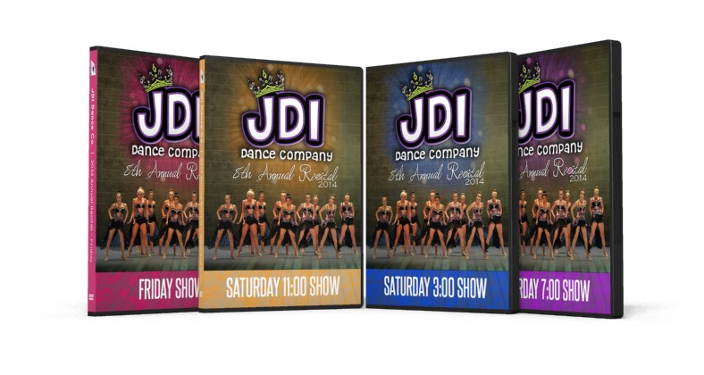 JDI Dance Co. DVDs (2014 Annual Recital) Are Finished!