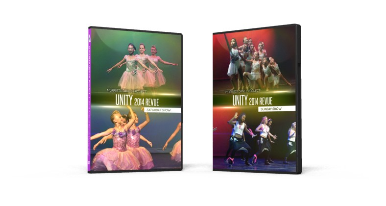 Murrieta Dance Project DVDs (2014 Annual Revue) Are Finished!
