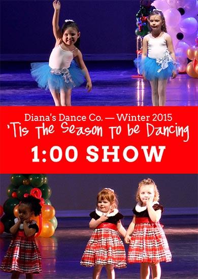 Diana's Dance Company 2015 — Winter (1:00)