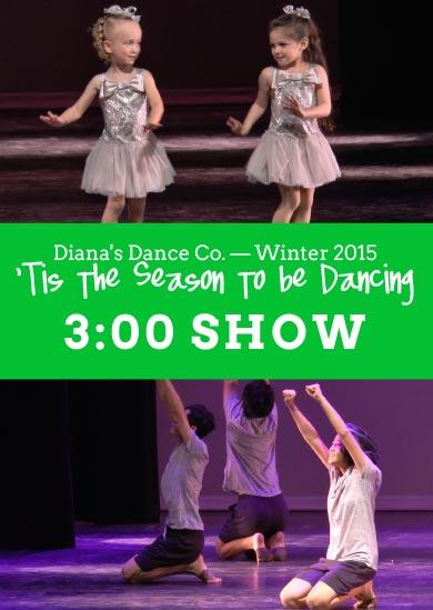 Diana's Dance Company 2015 — Winter (3:00)