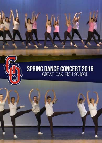 Great Oak Spring Dance Concert 2016