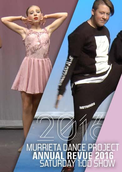 Murrieta Dance Project Annual Revue 2016 (Saturday 1pm)