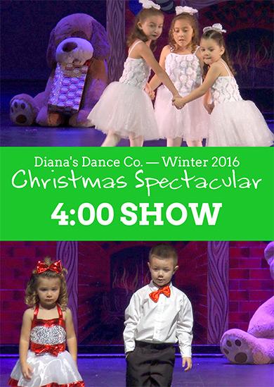 Diana's Dance Company 2016 — Winter (4:00pm Show)