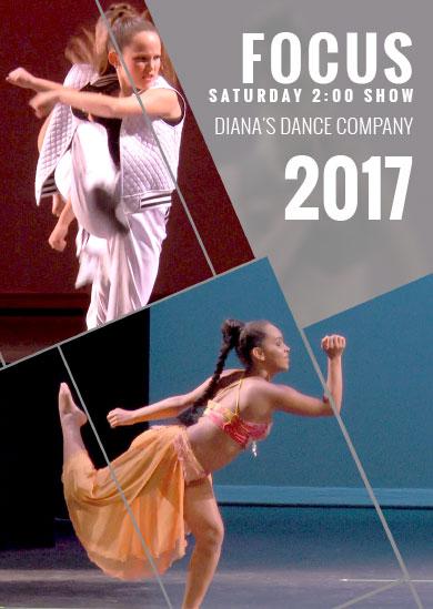 Diana's Dance Company Summer 2017 – Saturday 2pm