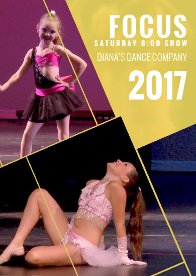 Diana's Dance Company Summer 2017 – Saturday 6pm