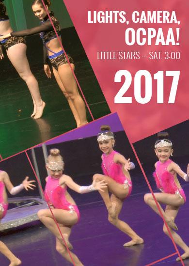 OCPAA 2017 — Show 3: Little Stars (Saturday 3:00pm Show)