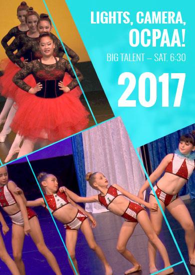 OCPAA 2017 — Show 4: Big Talent (Saturday 6:30pm Show)