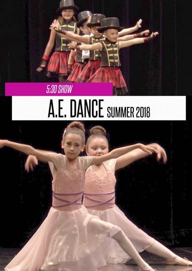 A.E. Dance 2018 (5:30 Show)