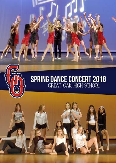 Great Oak Spring Dance Concert 2018