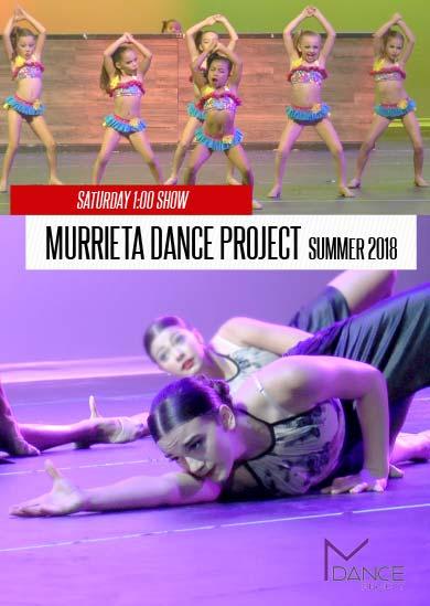 Murrieta Dance Project — Annual Revue 2018 (Saturday 1:00)