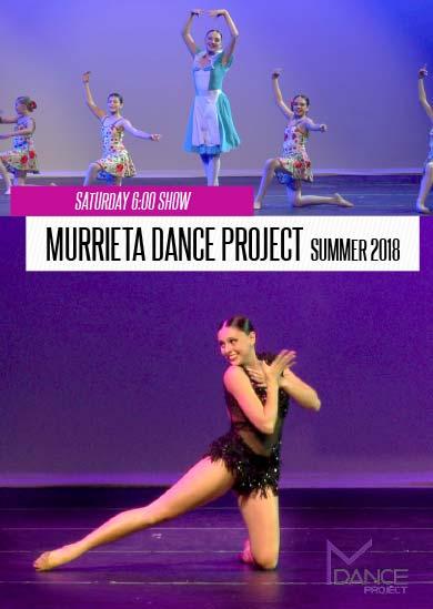 Murrieta Dance Project — Annual Revue 2018 (Saturday 6.00)